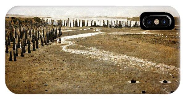 Low Tide Oregon Coast  IPhone Case