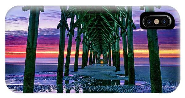 Low Tide Pier IPhone Case