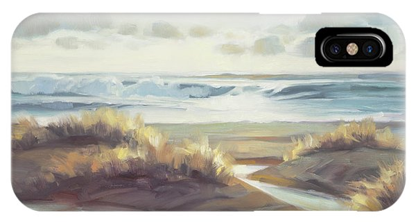 Sunny iPhone Case - Low Tide by Steve Henderson