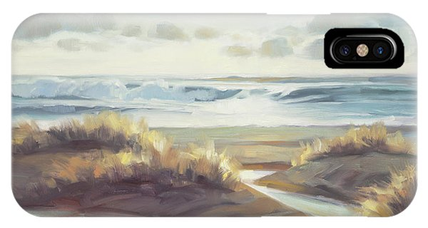 Coastal Landscape iPhone Case - Low Tide by Steve Henderson