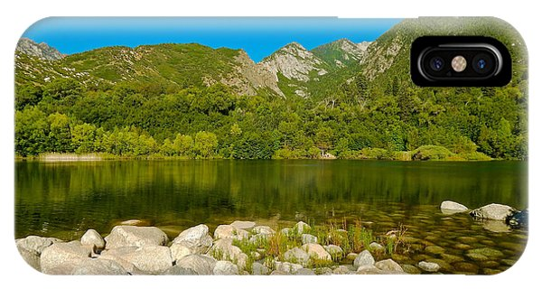 Lower Bells Canyon Reservoir IPhone Case