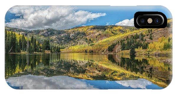 Lower Cataract Lake Aspen IPhone Case
