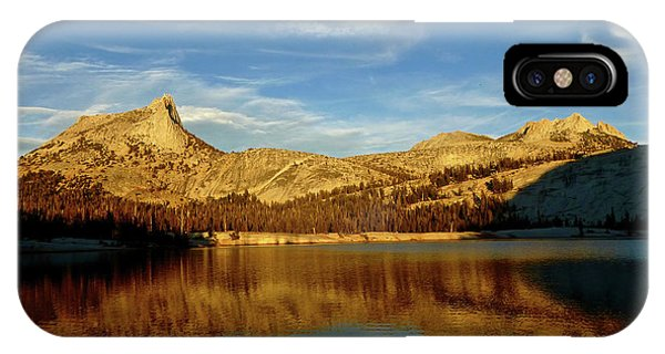Lower Cathedral Lake Late Afternoon IPhone Case