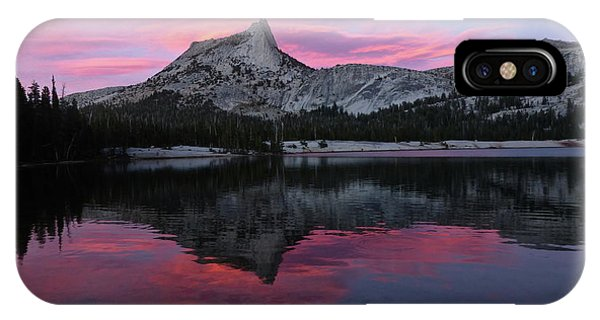 Lower Cathedral Lake Sunset IPhone Case
