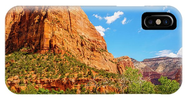 IPhone Case featuring the photograph Lower Emerald Pool Trail - Zion National Park by Penny Lisowski