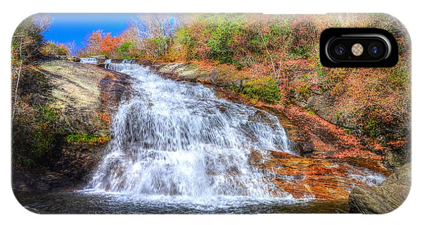 Lower Falls At Graveyard Fields IPhone Case
