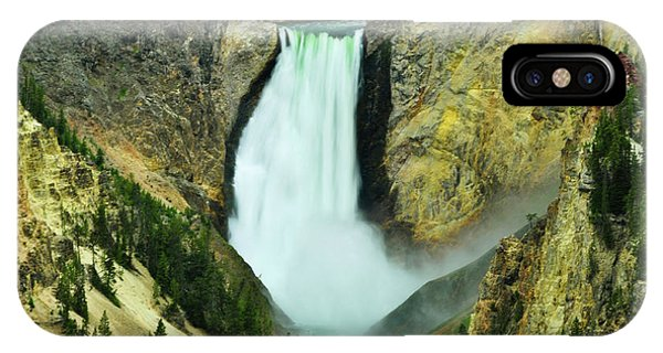 Lower Falls No Border Or Caption IPhone Case