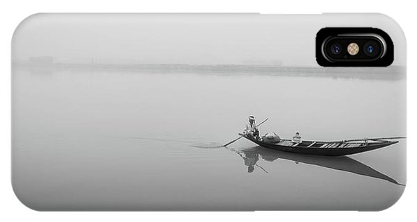 Lower Ganges - Misty Morinings IPhone Case
