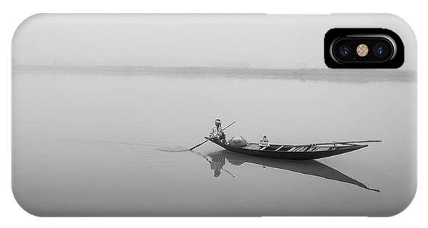 Lower Ganges - Misty Morinings IPhone Case