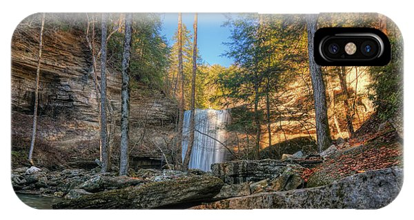 Lower Greeter Falls 2 Phone Case by Dale Wilson