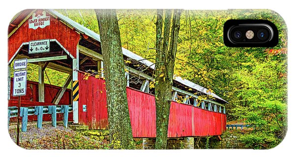 Somerset County iPhone Case - Lower Humbert Covered Bridge by Steve Harrington