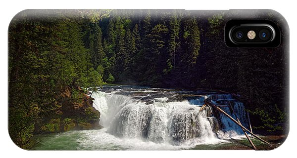 Lower Lewis Falls IPhone Case
