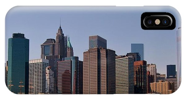 Lower Manhattan Nyc #2 IPhone Case