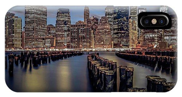 Lower Manhattan Skyline IPhone Case