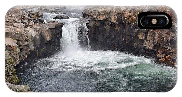 Lower Mccloud Falls IPhone Case