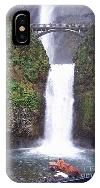 Lower Multnomah Falls IPhone Case