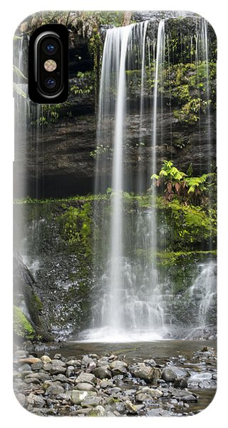 Lower Russell Falls Tasmania  IPhone Case