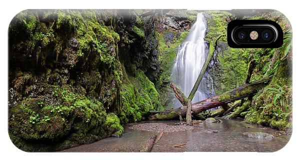 Lower Trestle Creek Falls IPhone Case