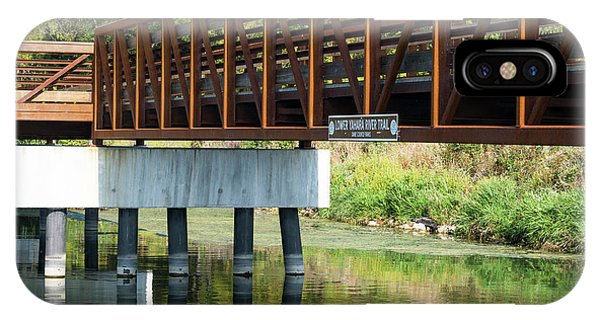 Lower Yahara River Trail 3- Madison - Wisconsin IPhone Case
