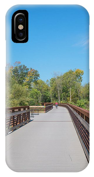 Lower Yahara River Trail 5 - Madison - Wisconsin IPhone Case
