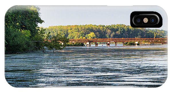 Lower Yahara River Trail - Madison - Wisconsin IPhone Case