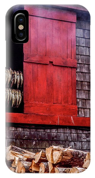 Lubec Smokehouse IPhone Case