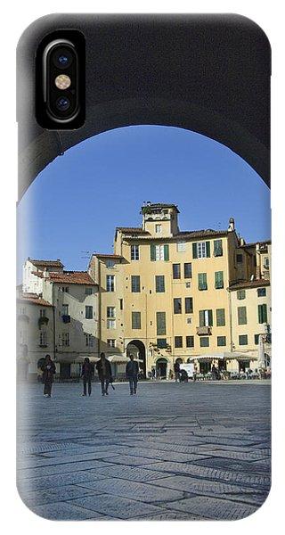 Lucca Piazza IPhone Case