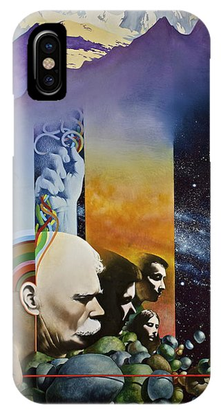 Lucid Dimensions IPhone Case