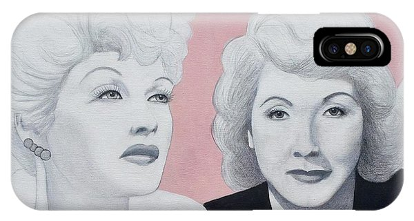 Lucille And Vivian IPhone Case