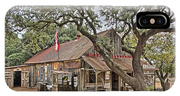 Luckenbach Post Office And General Store_1 IPhone Case
