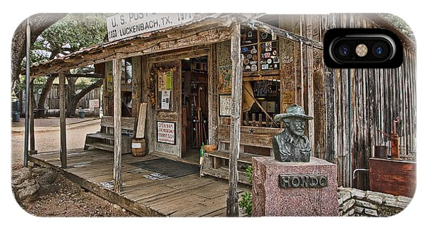 Luckenbach Post Office And General Store_2 IPhone Case