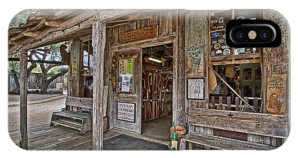 Luckenbach Post Office And General Store_4 IPhone Case