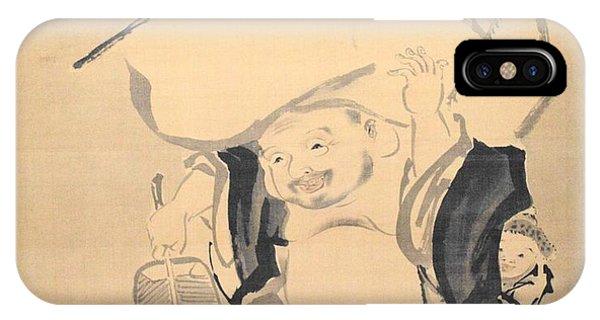 iPhone Case - Lucky Gods Hotei by Keisuke Ueda