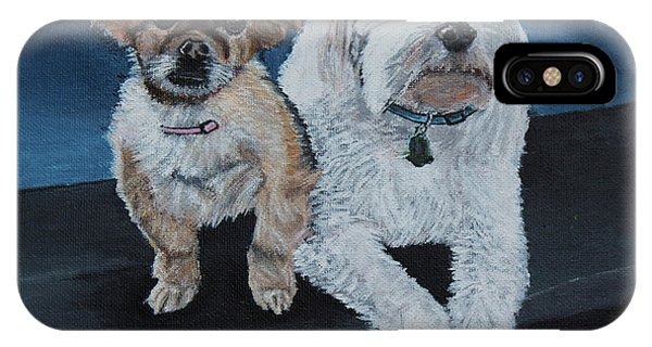 Lucy And Colby IPhone Case