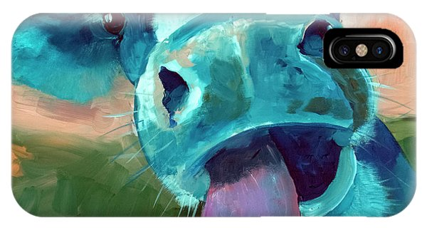 Barnyard Animals iPhone Case - Lucy by Sean Parnell