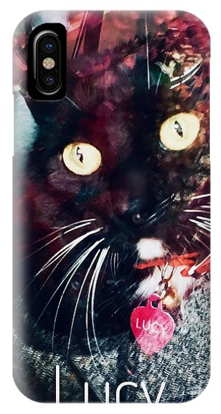 Lucy The Cat IPhone Case