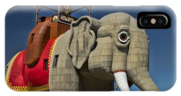 IPhone Case featuring the photograph Lucy The Elephant I by Kristia Adams