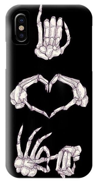 Skull iPhone Case - Ludwig Van Bacon by Ludwig Van Bacon