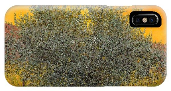 Oil iPhone Case - L'ulivo Tra Le Vigne by Guido Borelli
