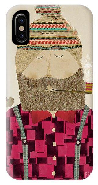 Jack iPhone Case - Lumberjack Jim by Bri Buckley