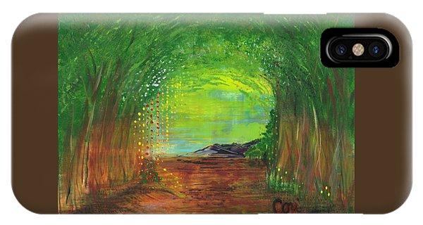 Luminous Path IPhone Case