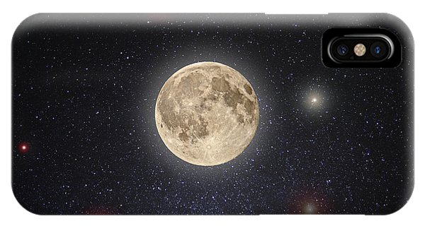 Full Moon iPhone Case - Luna Lux by Steve Gadomski
