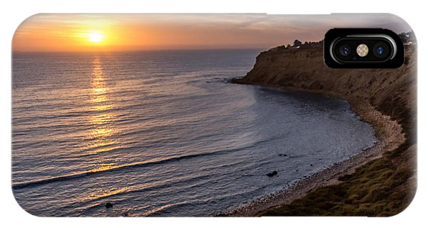 Lunada Bay Sunset IPhone Case
