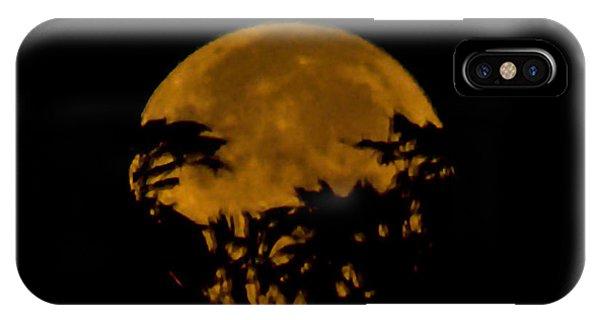 Lunar Crown IPhone Case