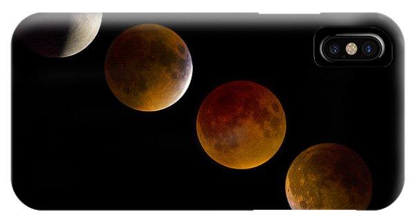 Lunar Eclipse 2015 IPhone Case