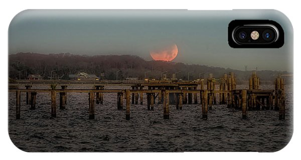 Lunar Eclispe  IPhone Case