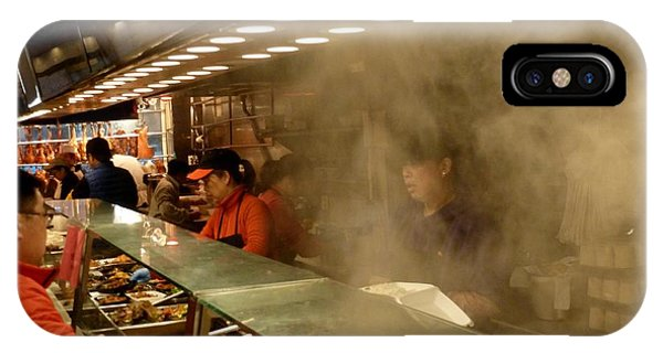 Lunch Counter In Flushing IPhone Case