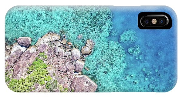 IPhone Case featuring the photograph Luncheon Bay, Hook Island by Keiran Lusk