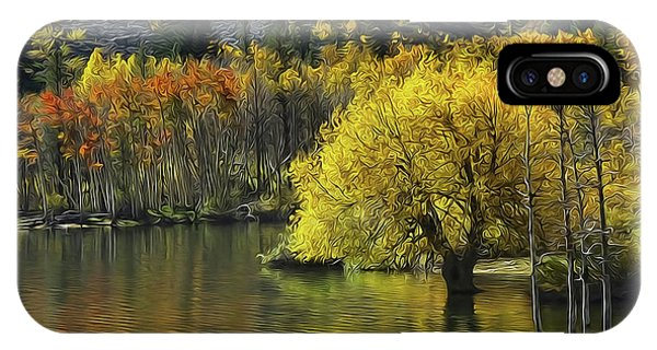 Lundy Lake Beauty IPhone Case