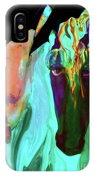 Lungta Windhorse O. 4 IPhone Case